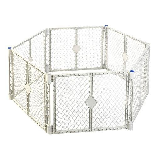 North States Supergate Tall Easy Swing And Lock Gate