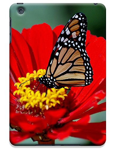 Fantastic Faye Cell Phone Cases For Ipad Mini No.12 The Beautiful Design With Colorful Butterfly Fly On The Leaves Or Flowers