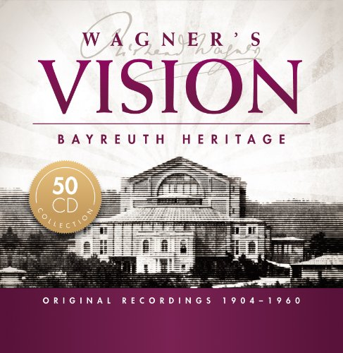 Wagner's Vision – Bayreuth Heritage – Wagner – cofre CD