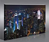 New York V3 NYC City 100 x 65 cm * huge modern canvas art print gallery framed ready to hang 40
