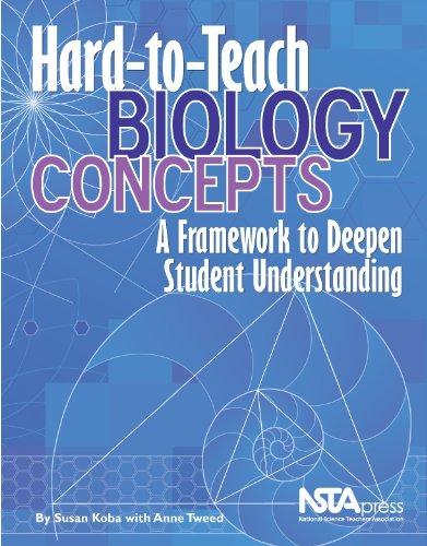 Hard-To-Teach Biology Concepts: A Framework to Deepen...