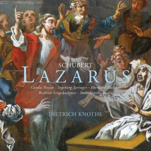 "Lazarus, D. 689, Act 2: Aria ""O könnt' ich"" (Simon)"