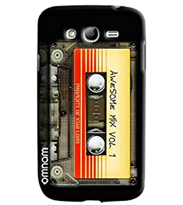 Omnam Cassette Printed Designer Back Cover Case For Samsung Galaxy Grand