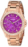 Fossil Womens ES3531 Riley Analog Display Analog Quartz