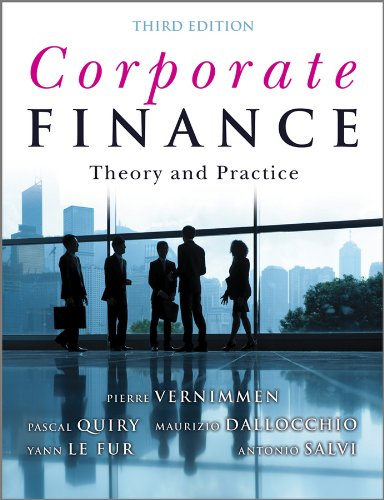 Pascal Quiry - Corporate Finance: Theory and Practice