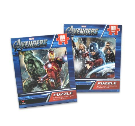 Marvel - The Avengers - 100 Piece Kids Puzzle Style May Vary