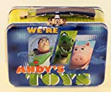 Disney Pixar Toy Story Andy's Toys Small Embossed Lunch Box Tin/ Carry-all
