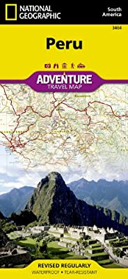 Peru: National Geographic: Adventure Map (National Geographic: Adventure Map (3404))