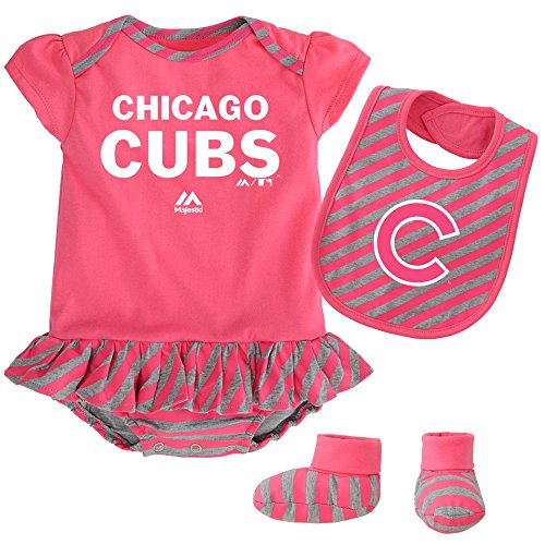 buy popular 07ddb 8a47c Mlb chicago cubs baby outfit | Shop Online Unique Mlb ...