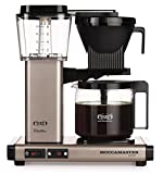 Technivorm-Moccamaster KBG 741 10-Cup Coffee Brewer with Glass Carafe, Satin