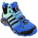 adidas Outdoor Women s Terrex Swift R Mid GTX Ray Blue / Black / Ice Green 7.5 B(M) US