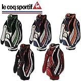 ルコック ゴルフ QQ1158 キャディバッグ le coq sportif ネイビー×レッド(XN20)