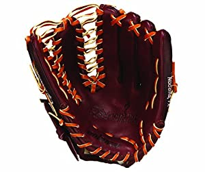 Nokona AMG1275-BL-T 12.75 Inch Bloodline Trap Web Glove (Right Handed Throw)
