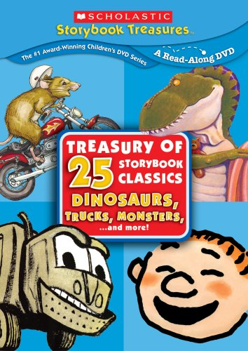 Treasury of 25 Storybook Classics: Dinosaurs, Trucks, Monsters and More! (Scholastic Storybook Treasures) (Storybook Classics compare prices)