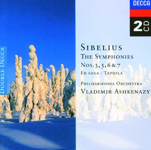 Sibelius: Symphonies Nos. 3, 5, 6 & 7; Tapiola; En Saga (2 CDs)