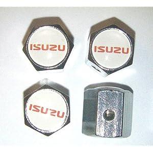 Isuzu Anti-theft Car Wheel Tire Valve Stem Caps