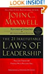 The 21 Irrefutable Laws of Leadership...