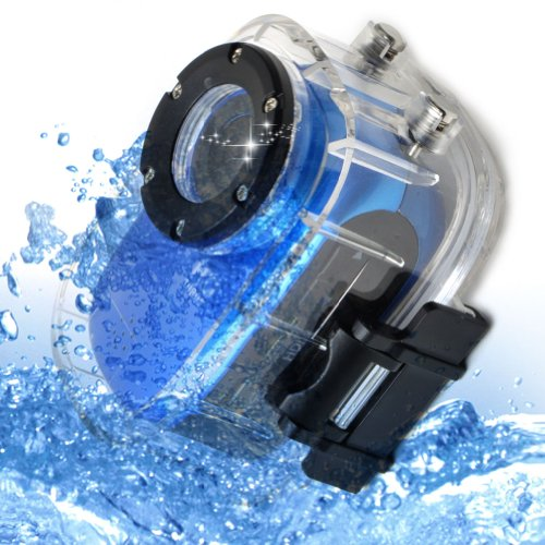E-PRANCE Novatek 96650 Mini Waterproof Sports Video Recorder Camera + Full HD 1920*1080P 30FPS + 140 Degree Wide... Black Friday & Cyber Monday 2014