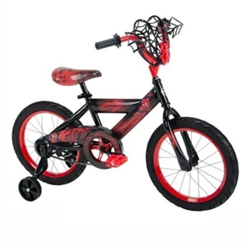 Huffy Bicycle Company 21966 Boys Marvel Ultimate Spider-Man Bike, 16, Black by Huffy Bicycle Company
