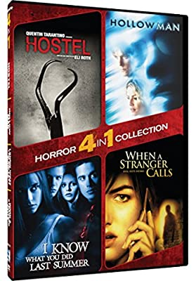 4-in-1 Horror Collection - Hostel/Hollow Man/I Know What You Did Last Summer/When A Stranger Calls