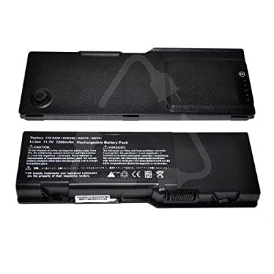 Easy&Fine®Laptop battery replacement for Inspiron 6400 KD476 Inspiron E1505\E1501 by GLMART