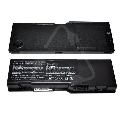 7200mAh (9-cell) High Capacity Laptop Battery for Dell Inspiron 6400, E1505