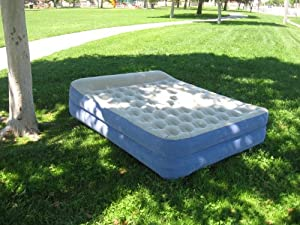 Amazon.com : HEAVY-DUTY OZARK Queen Size Elevated AIRBED W
