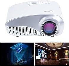 Taotaole RD-802 24W LED HD Home Mini Projector w HDMIVGAUSB Remote Control White
