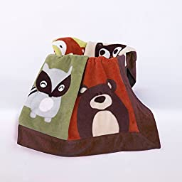Belle Foxy &Amp; Friends Fleece Blanket