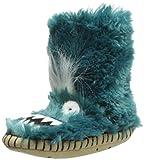 Hatley Little Boys' Fuzzy Fleece Slippers-Ice Monsters