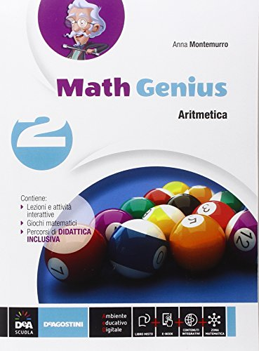 math-genius-aritmetica-geometria-palestra-delle-competenze-con-e-book-con-espansione-online-per-la-s