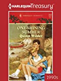 img - for One Shining Summer book / textbook / text book