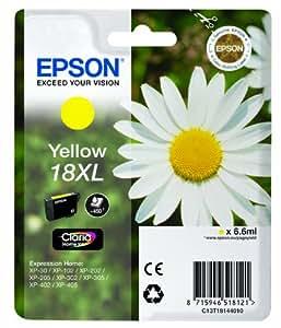 Epson Pâquerette 18 XL T1814 Cartouche d'encre Jaune