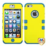 Product B00A3JMEHU - Product title MYBAT IPHONE5HPCTUFFSO011NP Premium TUFF Case for iPhone 5 - 1 Pack - Retail Packaging - Yellow/Tropical Teal