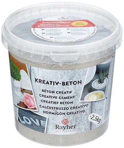 rayher-34153000-kreativ-beton-eimer-25kg