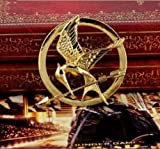 CoslolCos The Hunger Games Golden Mockingjay Pin Brooch With Gift Box
