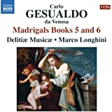 Gesualdo: Madrigals Books 5 nad 6