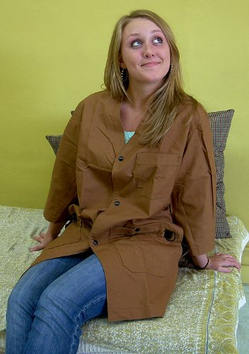 Art Smock- Large Copper (Sienna Color)