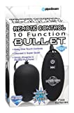 Pipedream Products Remote Control 10 Function Bullet - Black