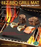 BBQ GRILL MAT - Make Grilling Easy! (EEZ BBQ GRILL MAT) FREE SHIPPING