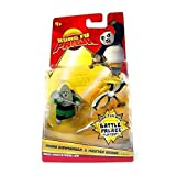 Kung Fu Panda Movie Figure 2-Pack Rhino Commander & Master Crane
