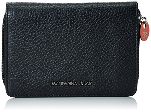mandarina-duckmellow-leather-portafoglio-bla-portafogli-donna-nero-schwarz-black-651-14x3x10-cm-b-x-
