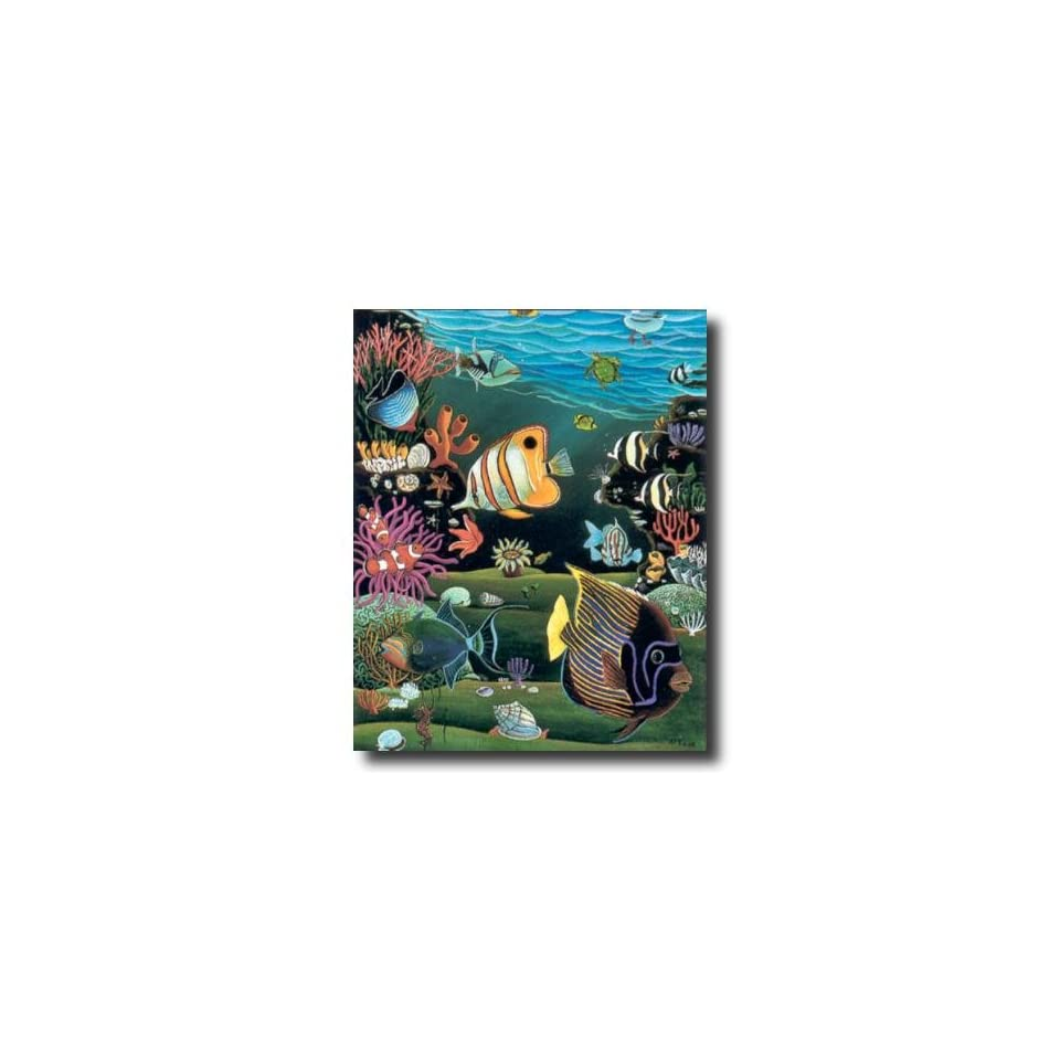 Tropical Ocean Fish Exotic Coral Reef Animal Wildlife