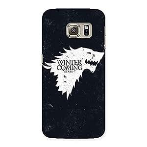 Ajay Enterprises Ft winter comser Back Case Cover for Samsung Galaxy S6 Edge