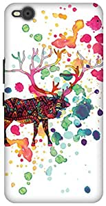 The Racoon Grip printed designer hard back mobile phone case cover for HTC One X9. (When The R)