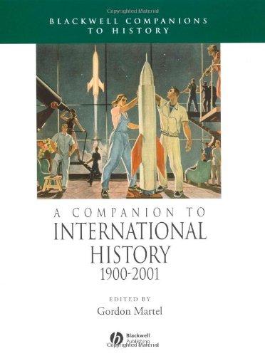 A Companion to International History 1900-2001
