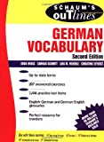 img - for Schaum's Outlines of German Vocabulary book / textbook / text book