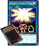 YuGiOh : REDU-EN055 1st Ed Chronomaly Pyramid Eye Tablet Common Card - ( Return of the Duelist Yu-Gi-Oh! Single Card )