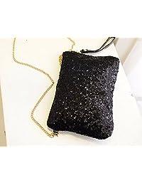 Crazy Sale Fashion Women Handbag Clutch Upgrated Dazzling Sequined Glittering Sparkling Bag Shoulder Bag Evening...