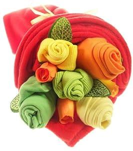 Traditional Baby Brights Clothes Bouquet por Say It Baby